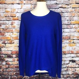 Madewell Electric Blue Pullover Sweater